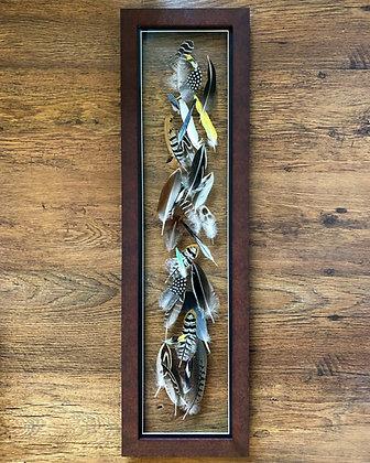 Feathers - 3D Original - 22cm x 76cm