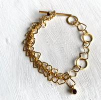Indian+summer+bracelet+in+yellow+gold+un