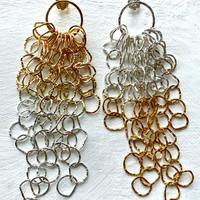 Afiok+collection+large+cascade+earrings_