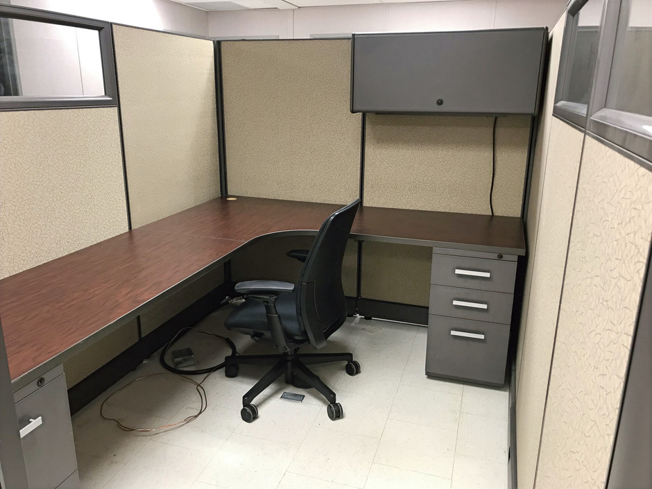 Final look at an installed Cubicle unit