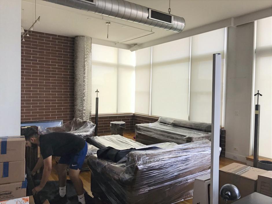 Kelvin Prepping furniture