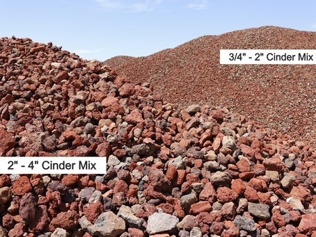 Cinder Mixes Add Texture to Your Landscape