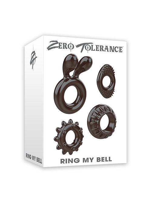 Ring My Bell 4-Piece Cock Ring Kit