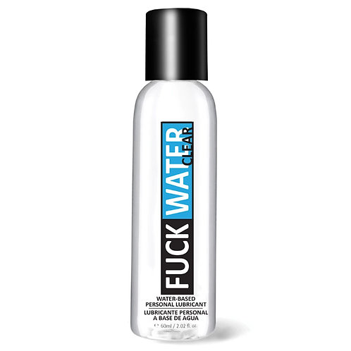 Fuck Water Clear Lubricant (Water-Based)