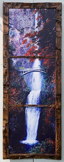 Multnomah Falls in Autumn