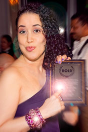 Susanna Guzman wins Outstanding Performance HOLA Award