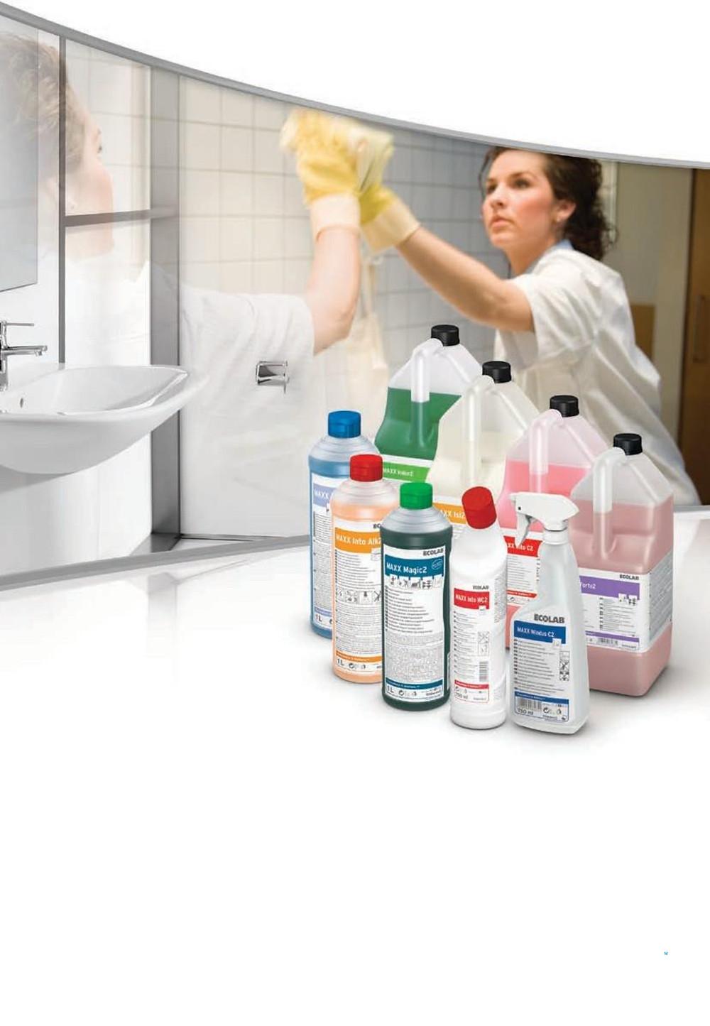 Система уборки от Ecolab