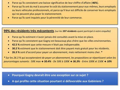 Dossier sur le stationnement payant à Gagny