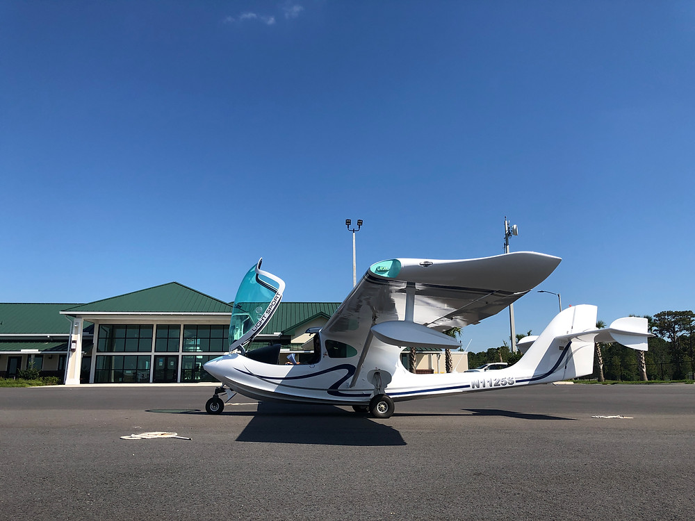 SEAMAX SN 158 at DeLand Municipal Airport