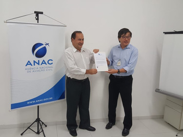 New SEAMAX AIRCRAFT factory is Certified by Brazilian National Civil Aviation Agency (ANAC)