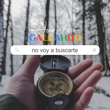 """AURELIO GALLARDO """"NO VOY A BUSCARTE"""""""