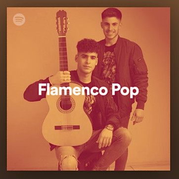 KIKE Y MANU PORTADA DE LA PLAYLIST ¨FLAMENCO POP¨