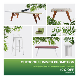 RS BARCELONA outdoor collection対象商品10%OFFのご案内
