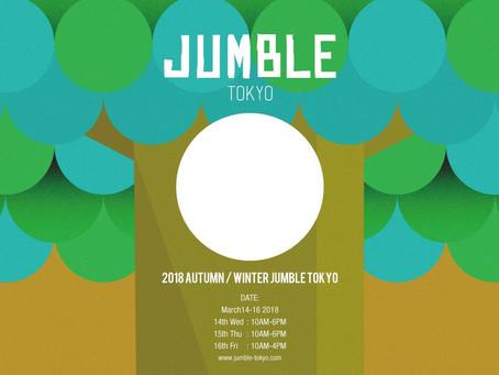 JUMBLE TOKYO  出展情報