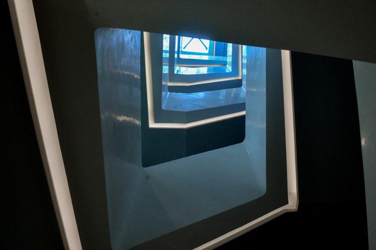 Linear LED lighting at ceiling_ APV_ Far