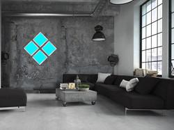 living with simple Blue DIAMOND - Copy
