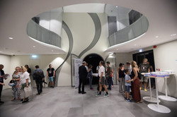 entrance to auditorium