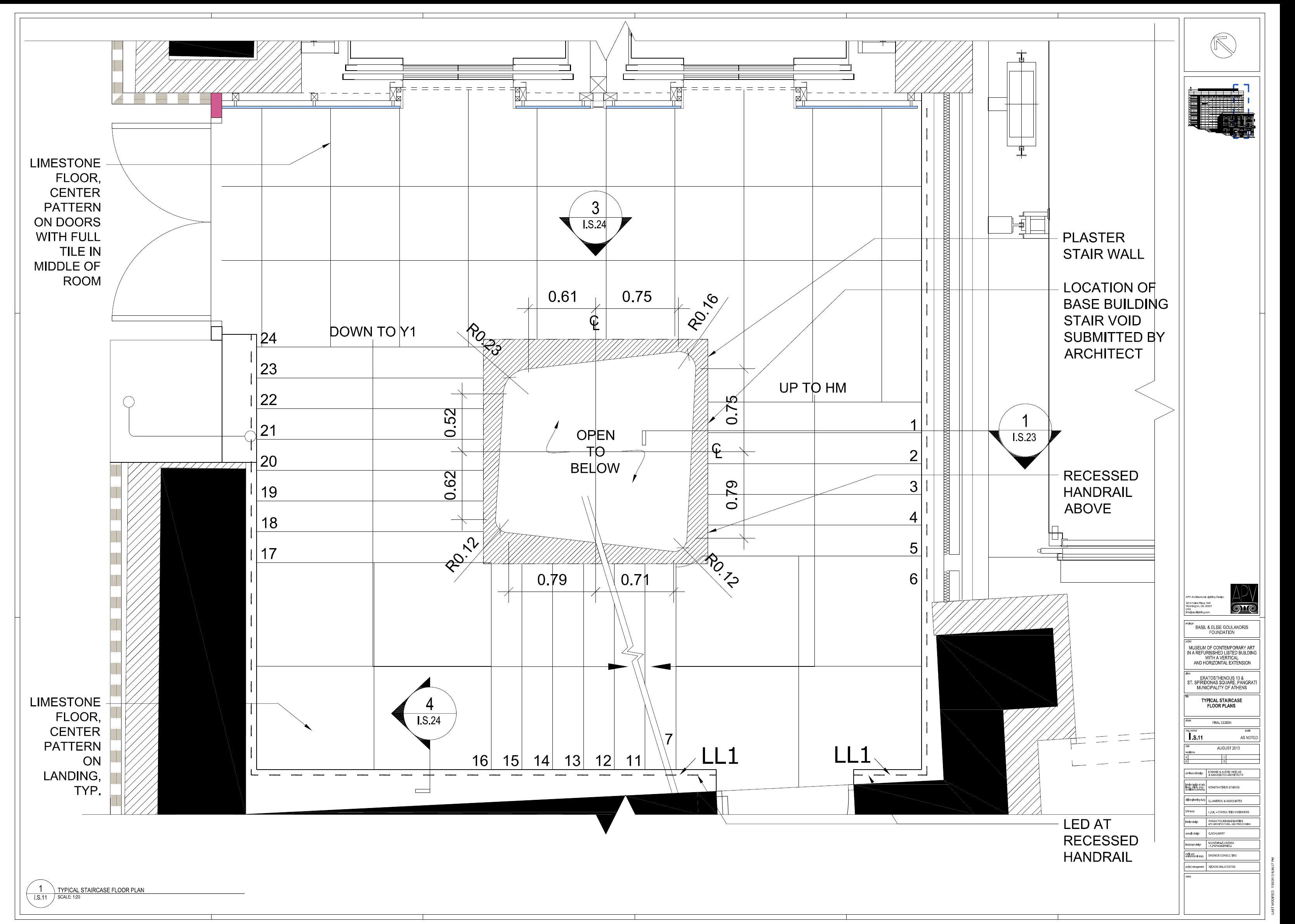 Plan View Stairs- APV- Farah Barnes crea