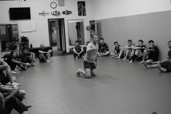Gray Maynard Wrestling class