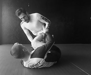 Mac Danzig and Kenny Florian training No-Gi Jiu-Jitsu