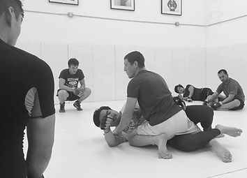 Coach Mac Danzig teaching No-Gi Jiu-Jitsu