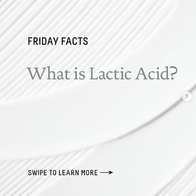Friday Facts - lactic acid