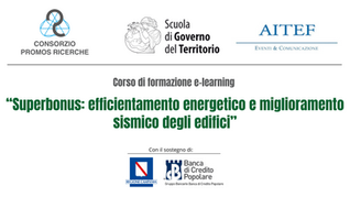 "Corso Online su ""Superbonus: efficientamento energetico e miglioramento sismico degli edifici"""