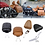 Thumbnail: Седенье пассажира Motorcycle Leather Passenger Pillion Seat For Indian Scout 201