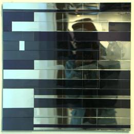 Selfie 2, 2015 Plexiglas 4 x 44 cm  © Yacob Bizuneh