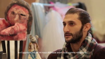 Film Portraits d'étudiants syriens aux Beaux-Arts de Paris