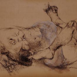 2010 Craie sur papier 120 x 160 cm © Monif Ajaj