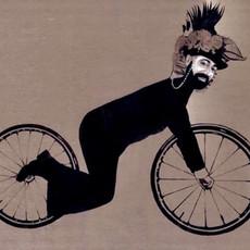 Bike 1, 2015 Acrylique sur toile  114 x 146 cm  © Khaled Takreti