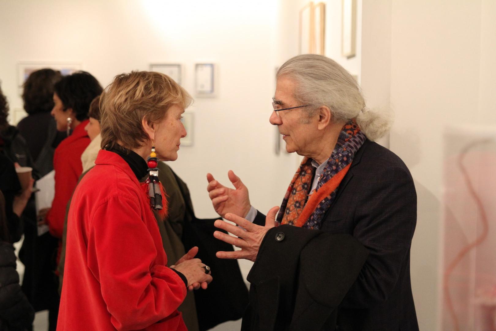 Pauline de Laboulaye et Claude Lemand  ©Abdul Saboor