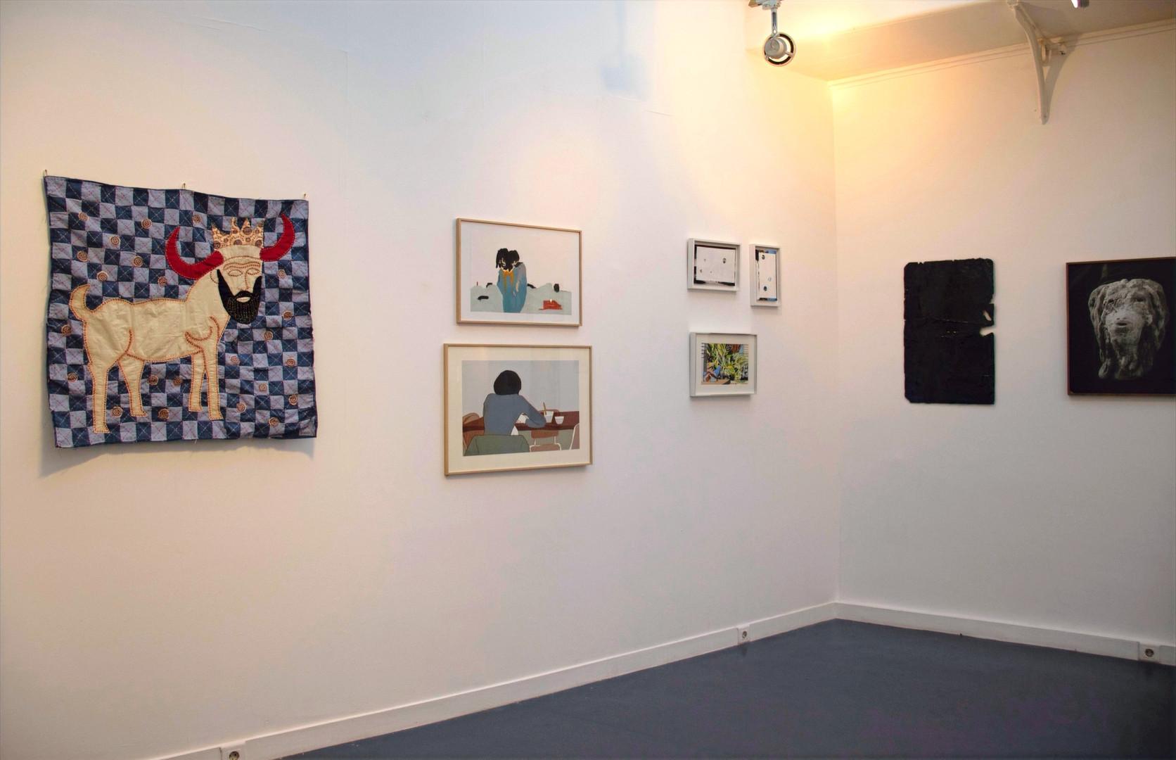 Œuvres de Kholod Hawash, Carine Prache, Farah Khelil, Bianca Bondi et Aurélien Froment ©Paul-Henri Nivet