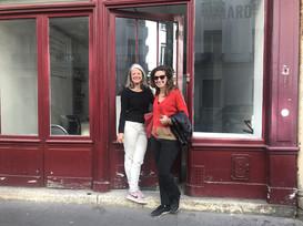 Véronique Bouruet- Aubertot et Ola Abdallah