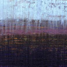 La pluie II, 2020 Acrylique sur toile  97 x 130 cm  © Walaa Dakak