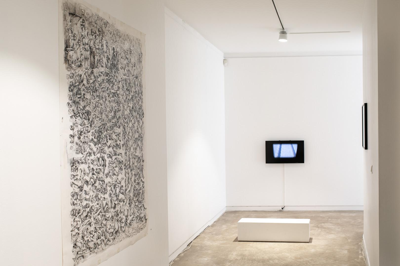 Vue d'ensemble de l'exposition ©Célia Pernot