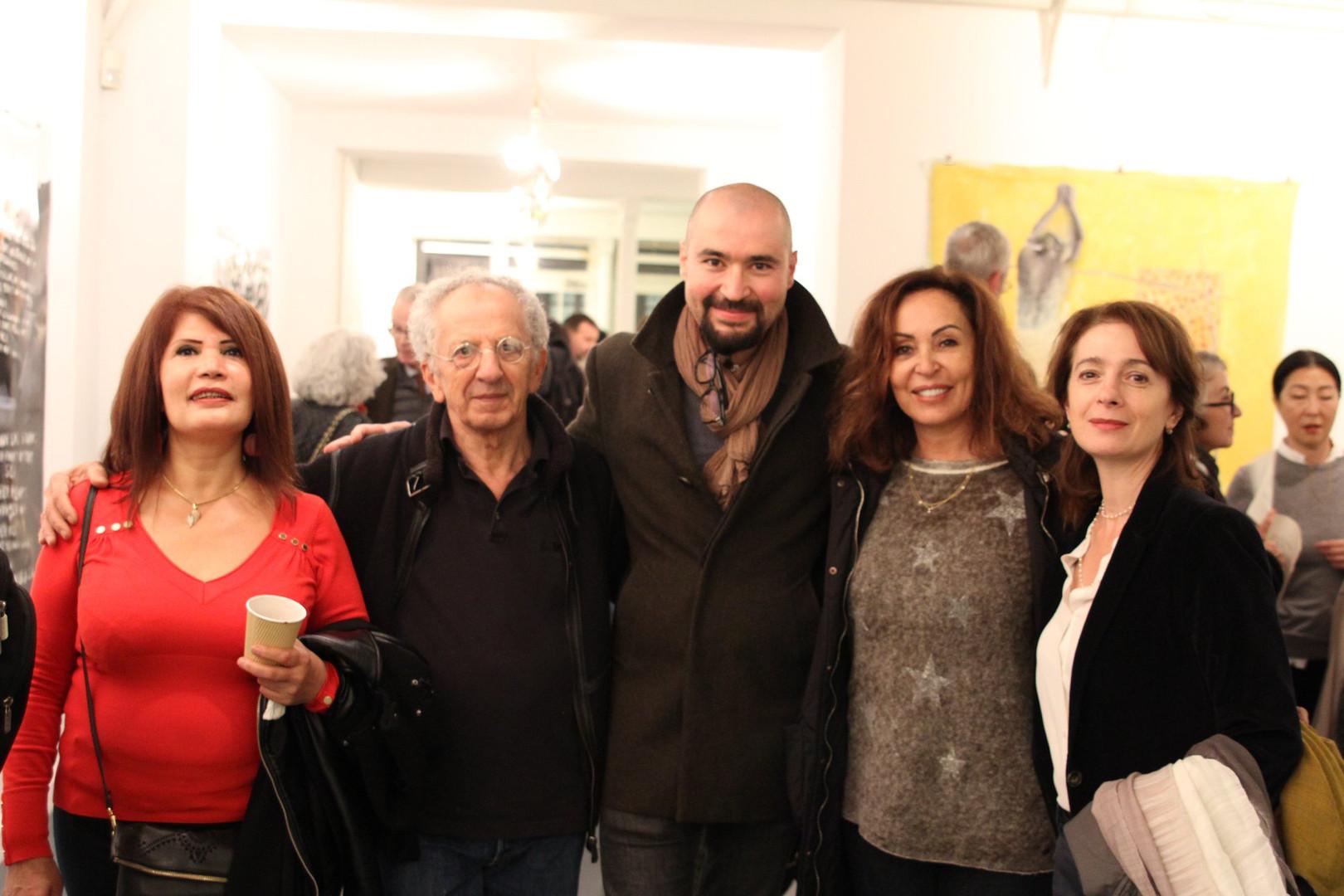 Mohamad Al Roumi, Walid El Masri, Sana Yazigi ©Randa Maddah