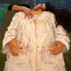 Hagham Hodaifa Autoportrait en chemise de nuit I, 2012