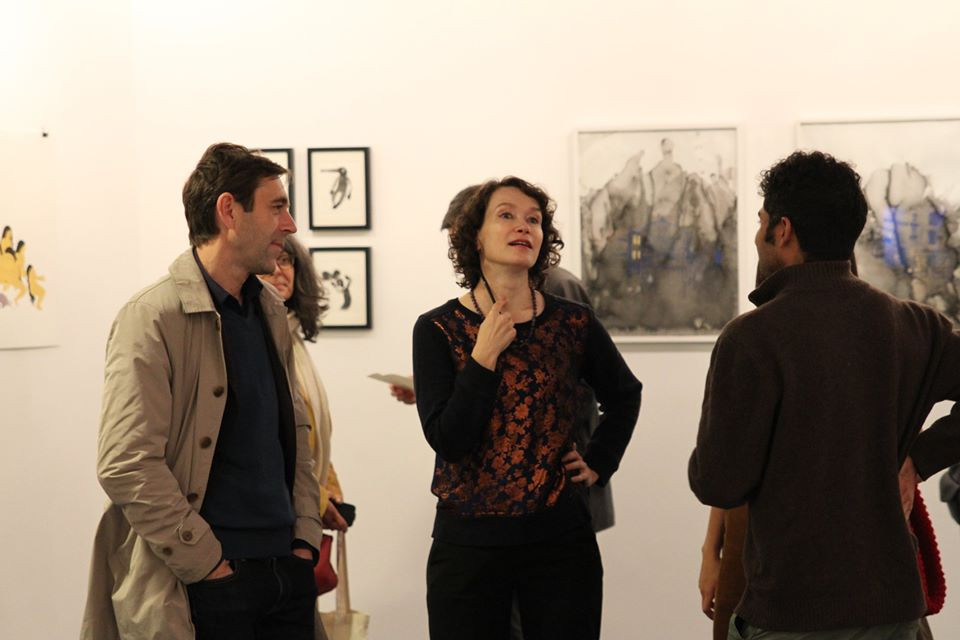 Noëlig Le Roux et Elena Sorokina ©Randa Maddah