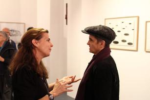 Véronique Pieyre de Mandiargues et Corinne Rondeau  ©Randa Maddah