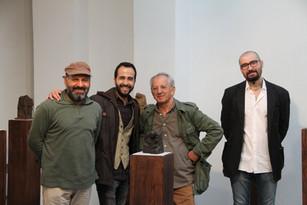 Monif Ajaj, Dino Ahmad Ali, Mohamad Al Roumi et Walid el Masri  ©Randa Maddah