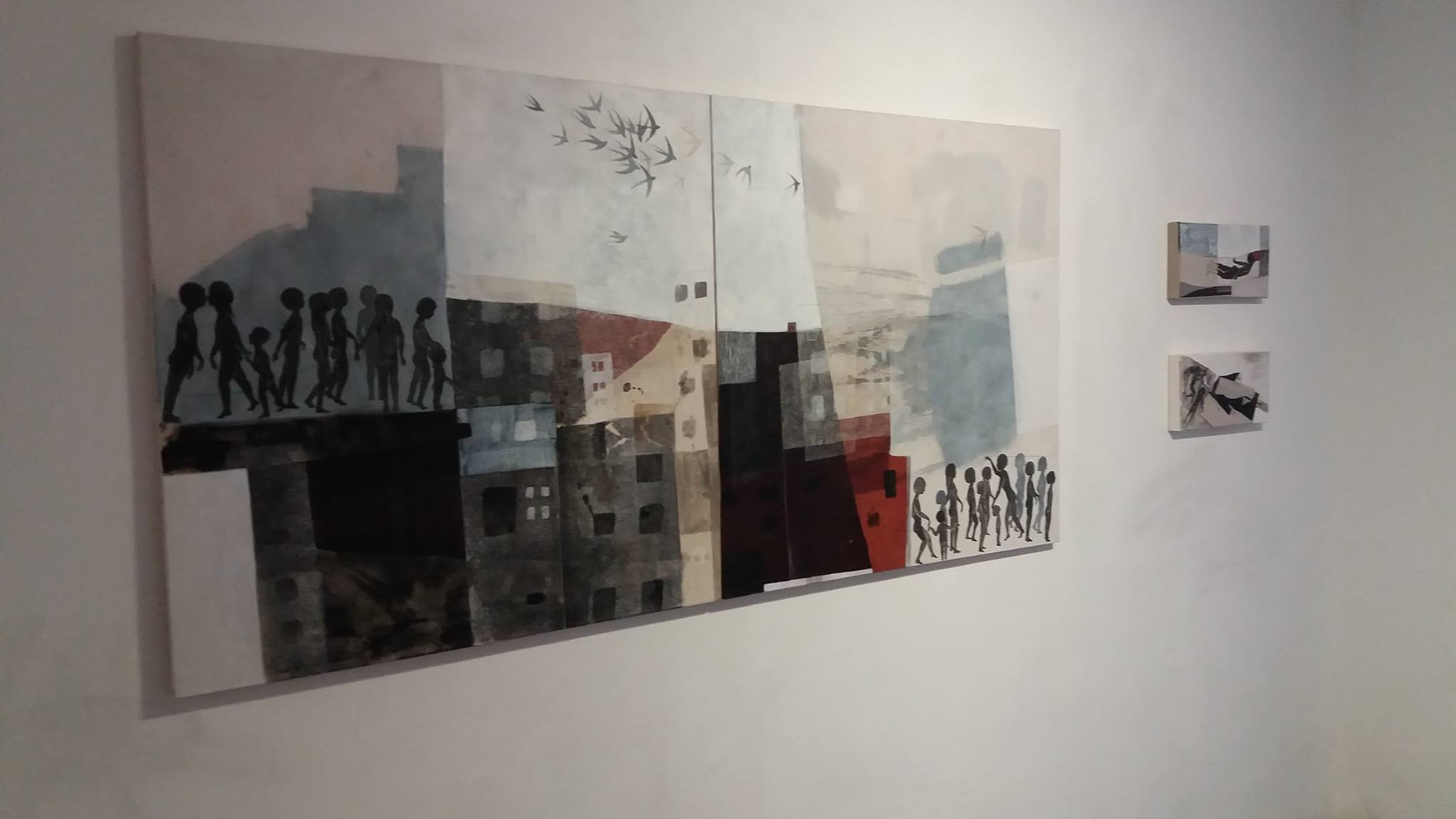 Œuvres de Reem Yassouf ©Randa Maddah