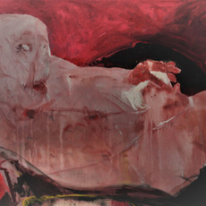12, 2019 Acrylique sur toile 130 x 165 cm © Monif Ajaj