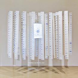 Snowflakes, 2009-2012 Installation, Documents, 784 factures Dimensions variables © Akram Al Halabi