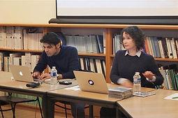 Keywan Karimi et Elena Sorokina