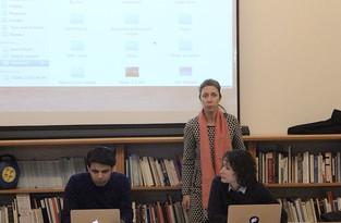Keywan Karimi, Natasa Petresin et Elena Sorokina
