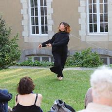Qanchiq, 2018 Performance Live au Musée de la danse à Renne ©Barbara Mai