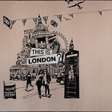 Immigration, Série Complete Freedom, 2012 Acrylique sur toile  120 x 160 cm  © M. Christophe Delliere