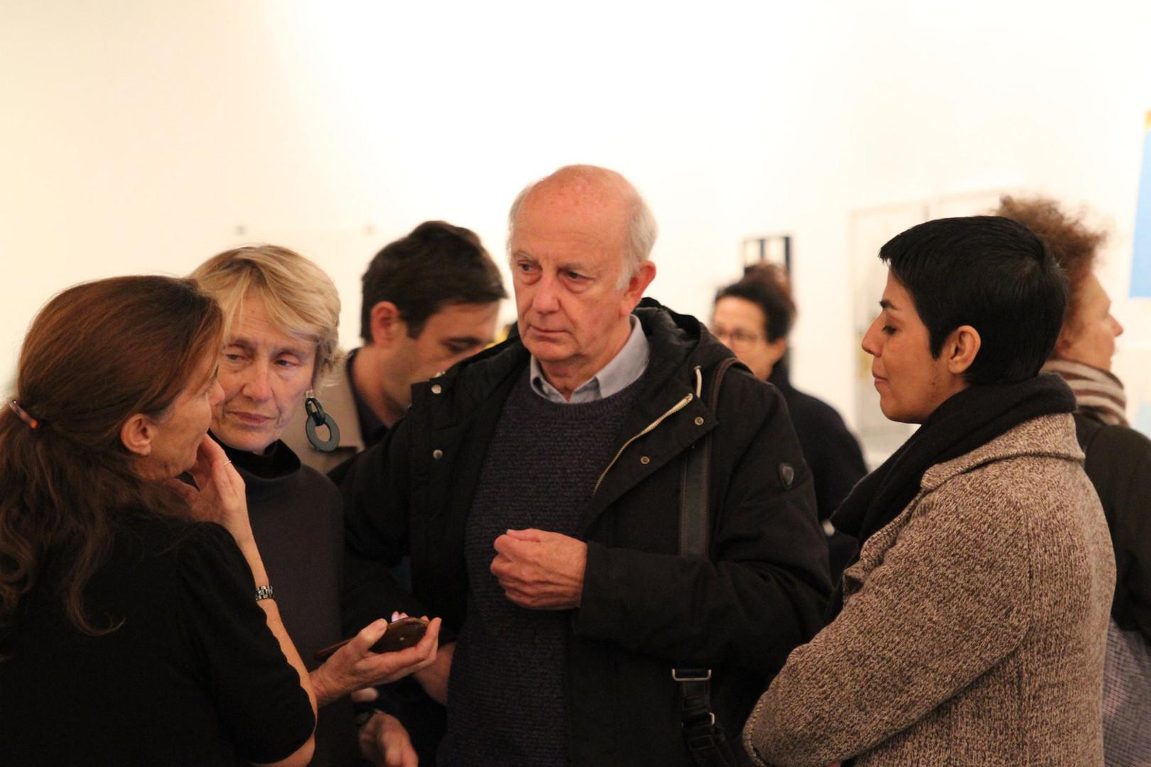 Pauline de Laboulaye, Christian Jouret et Hura Mirshekari  ©Randa Maddah